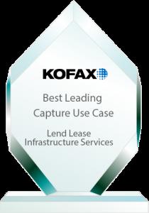 Efficiency Leaders Best Capture Awards